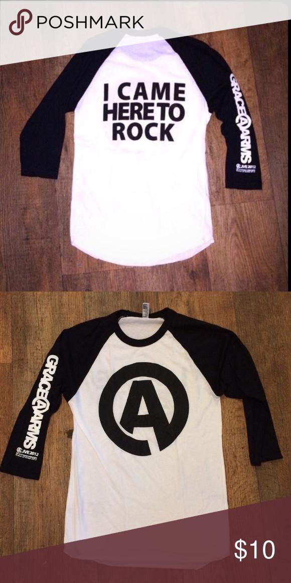 dff62e06 Rock Band Baseball Tee Shirt Top Unisex XS @ •Brand: American Apparel •