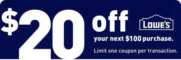 lowes 20 off coupon cabinets