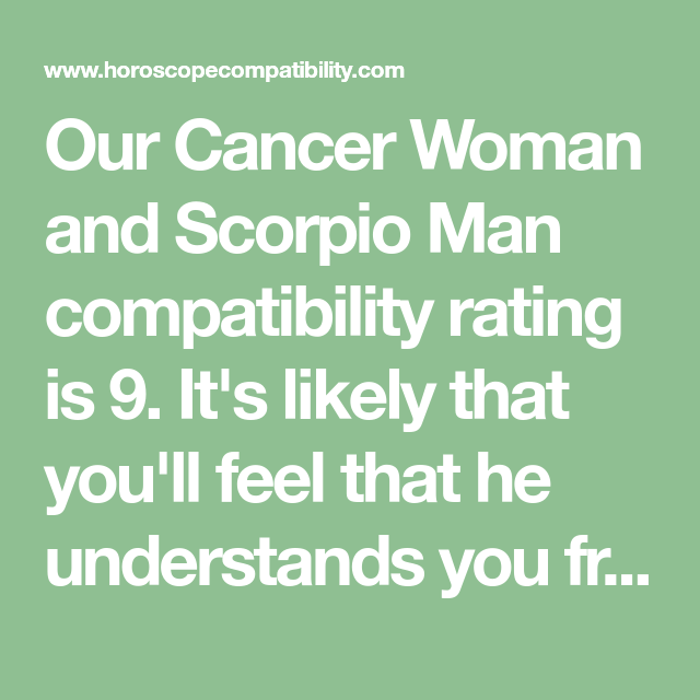 Cancer man and cancer woman relationship