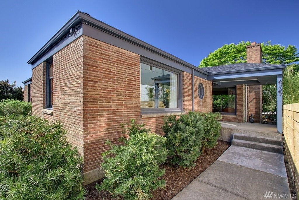 1948 Mid Century modern home available in Seattle WA  Click
