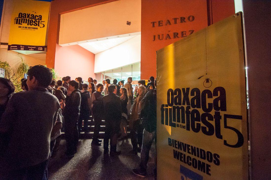 Closing Night at Oaxaca Film Fest (2014)
