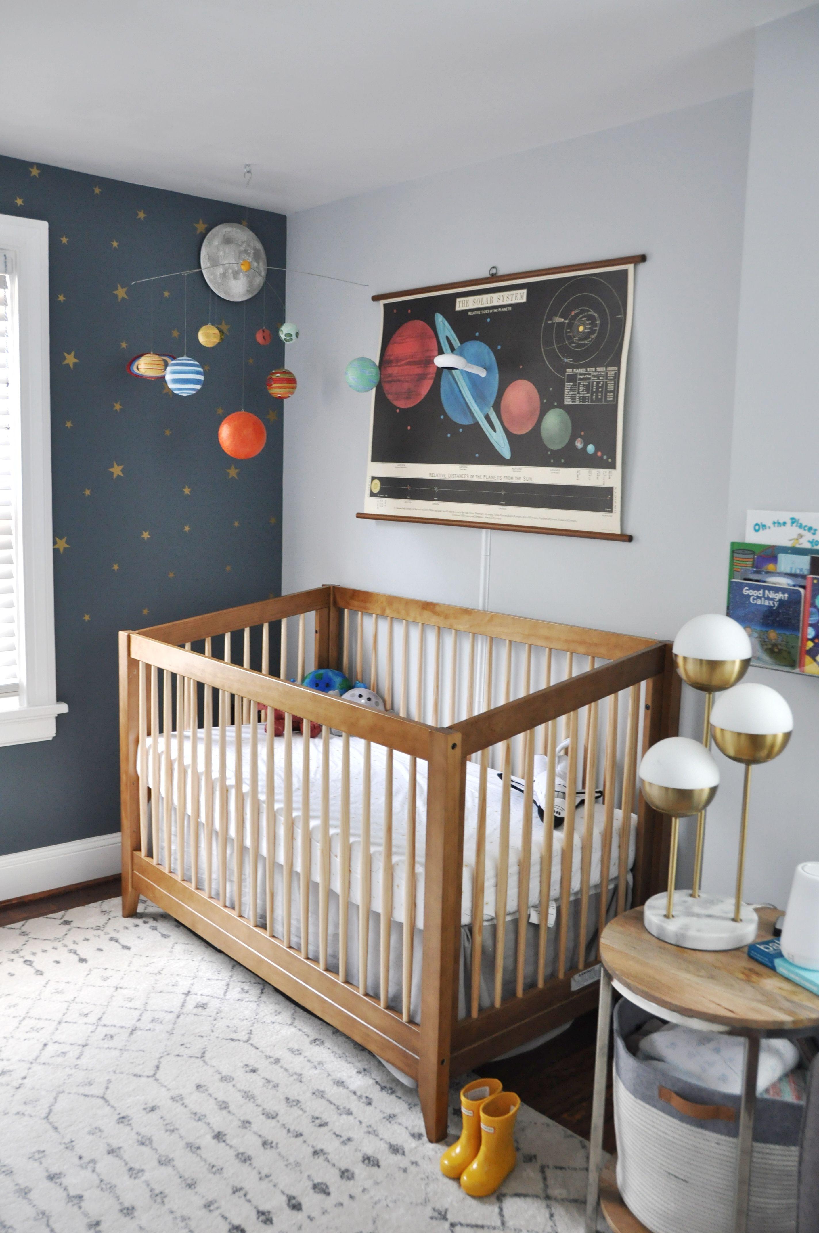 Solar System/Space Nursery Bebek Odası