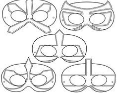 1292d47a791d6b4de968beb1ec1867e5 Power Rangers Samurai Paper Mask Jpg 236 187 Printable Coloring Masks Coloring Mask Superhero Coloring Pages