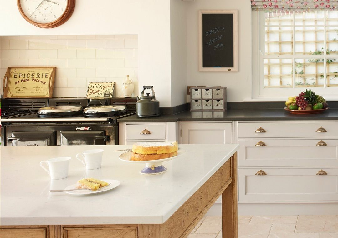 """Rencraft Kitchens on Instagram """"Country Kitchen with Aga"""