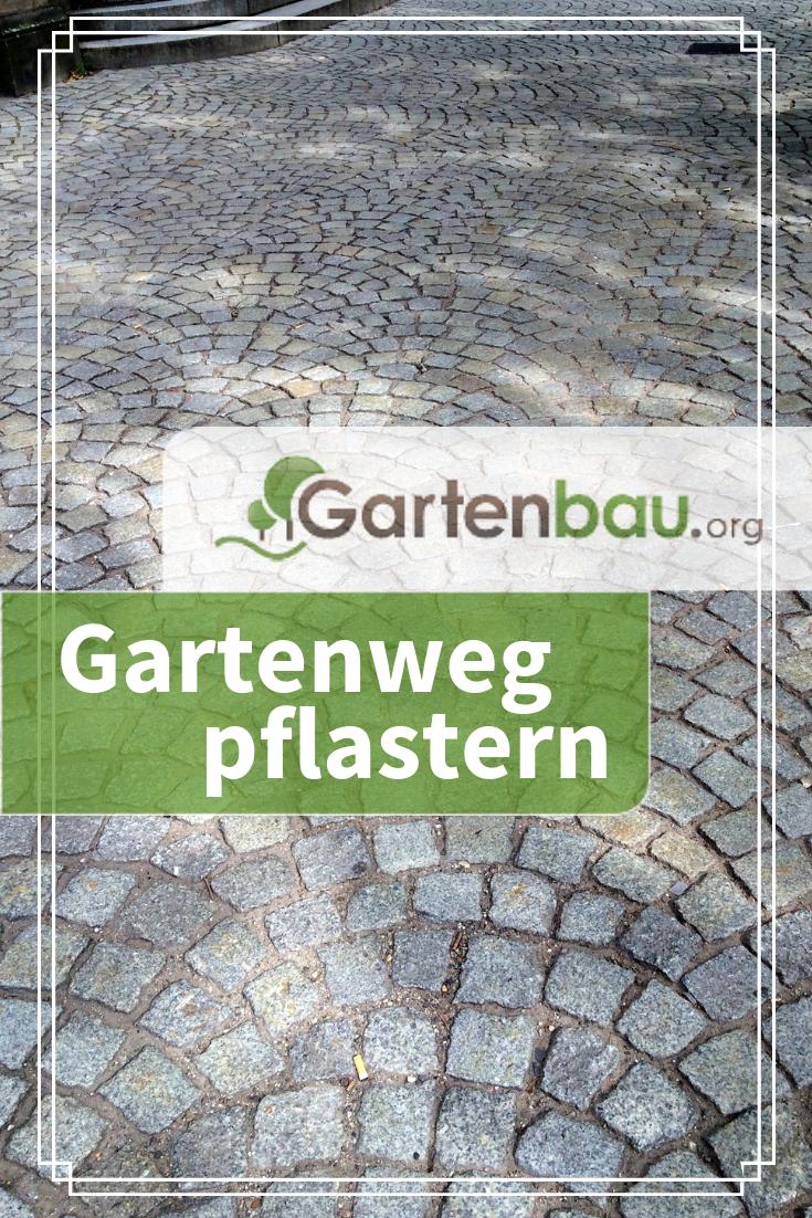 Gartenweg Pflastern Schritt Fur Schritt Gartenweg Pflastern Gartenweg Garten