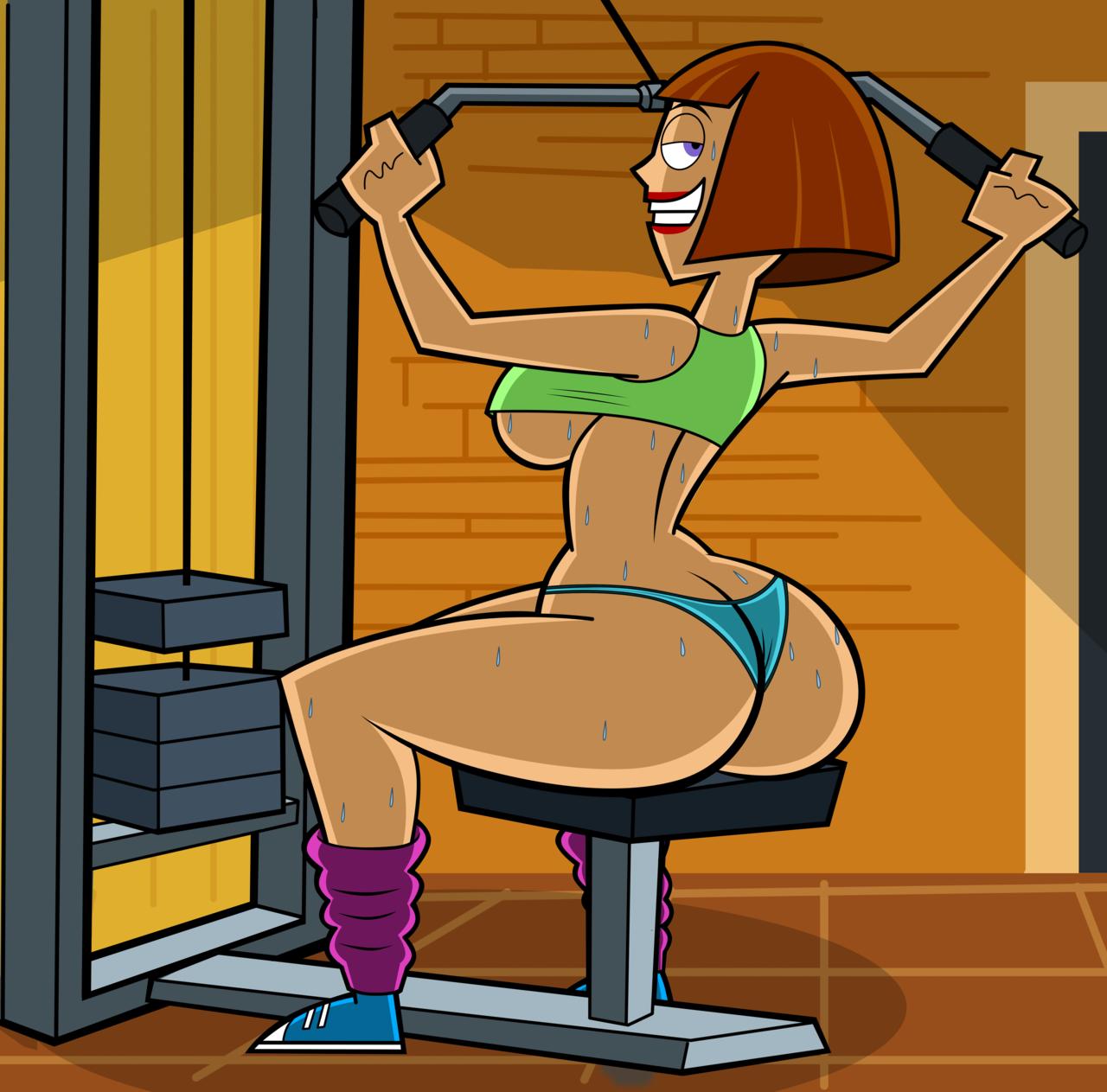 cartoons sexy mom