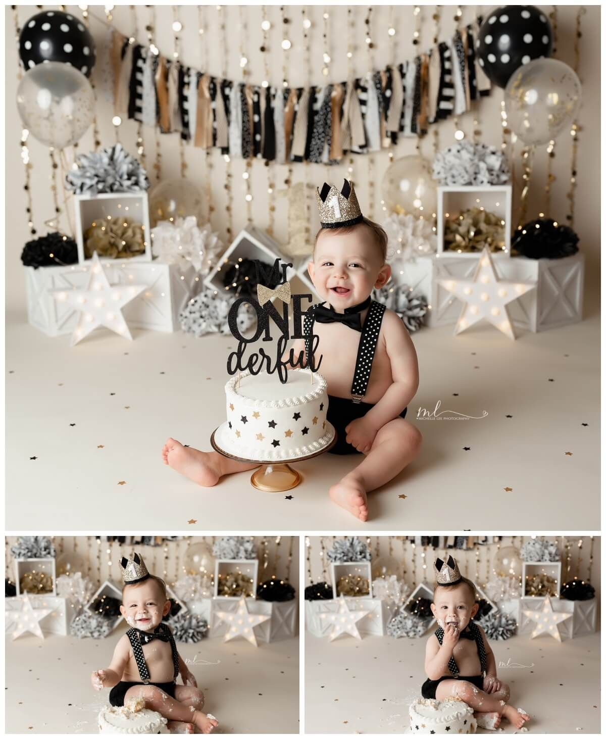 Cake Smash/One Year Session Michelle Lee Photography in