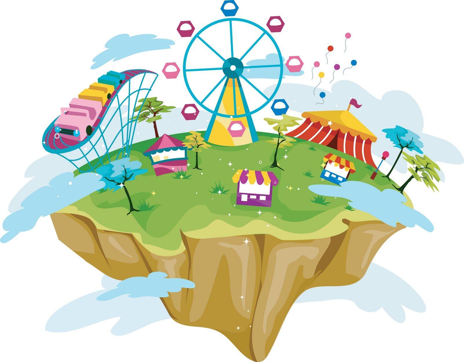 Amusement Park Clipart Map Amusement park clipart map
