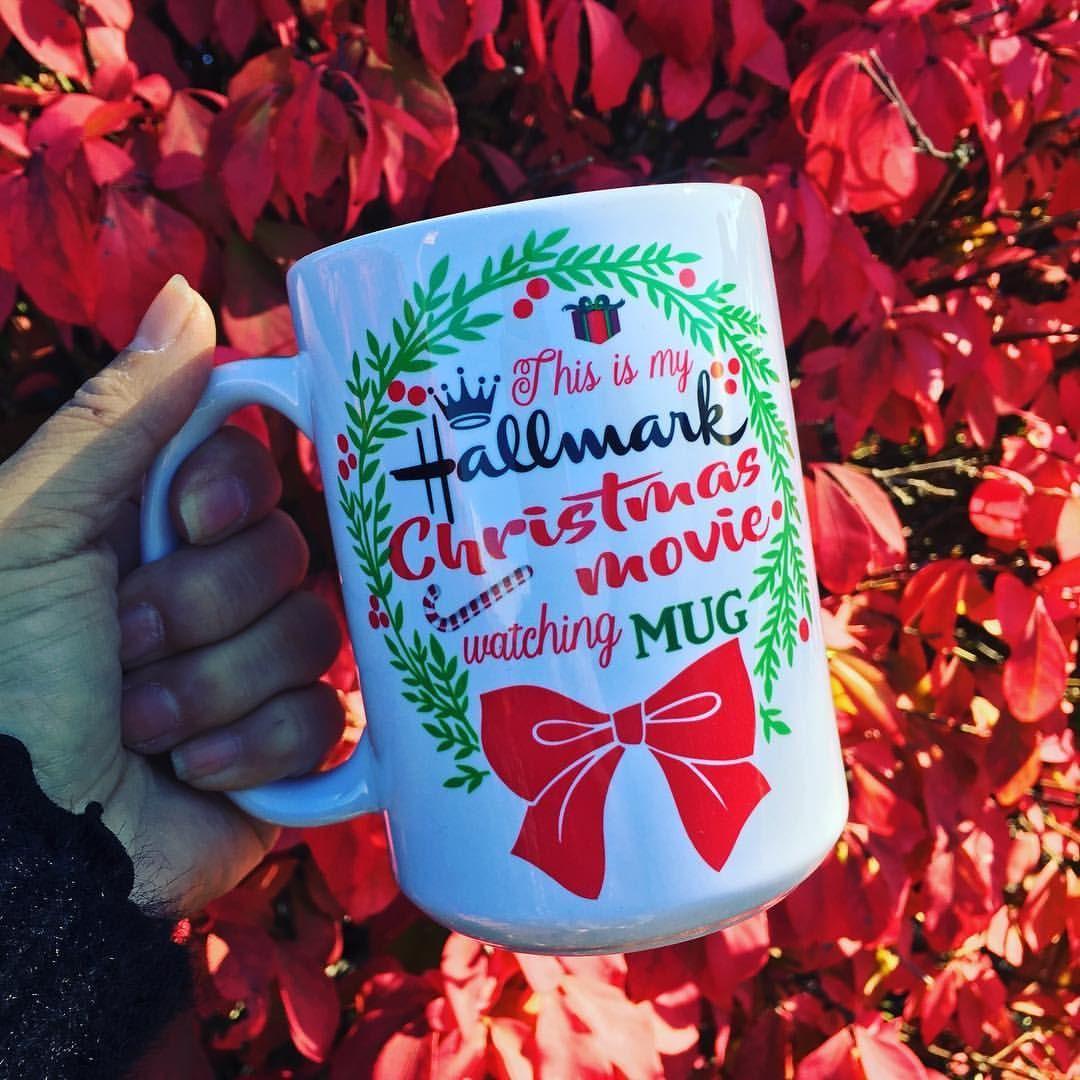 Who's ready? 😭🎄😭🎄😭 Swipe left for our mug. #hallmarkmovies #hallmarkmoviewatchingmug #instock #crying #christmasmovies