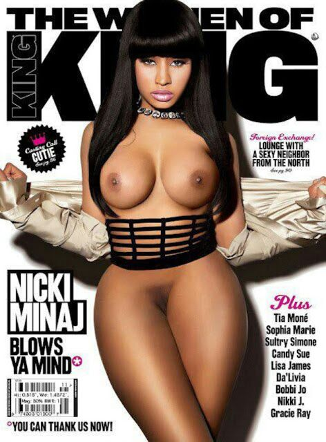 Nicki minaj naked tits and ass