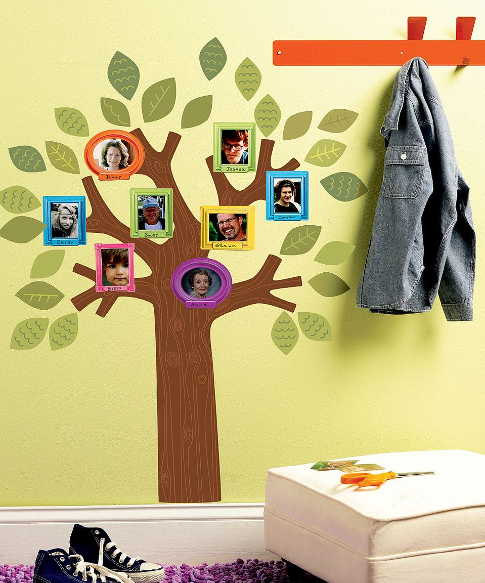This Fun Family Tree Set by WALLIES is perfect! #zulilyfinds | For ...