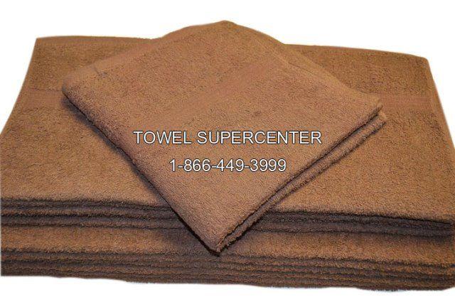 22x44 Premium Dark Brown Bath Towels 100 Cot With Images
