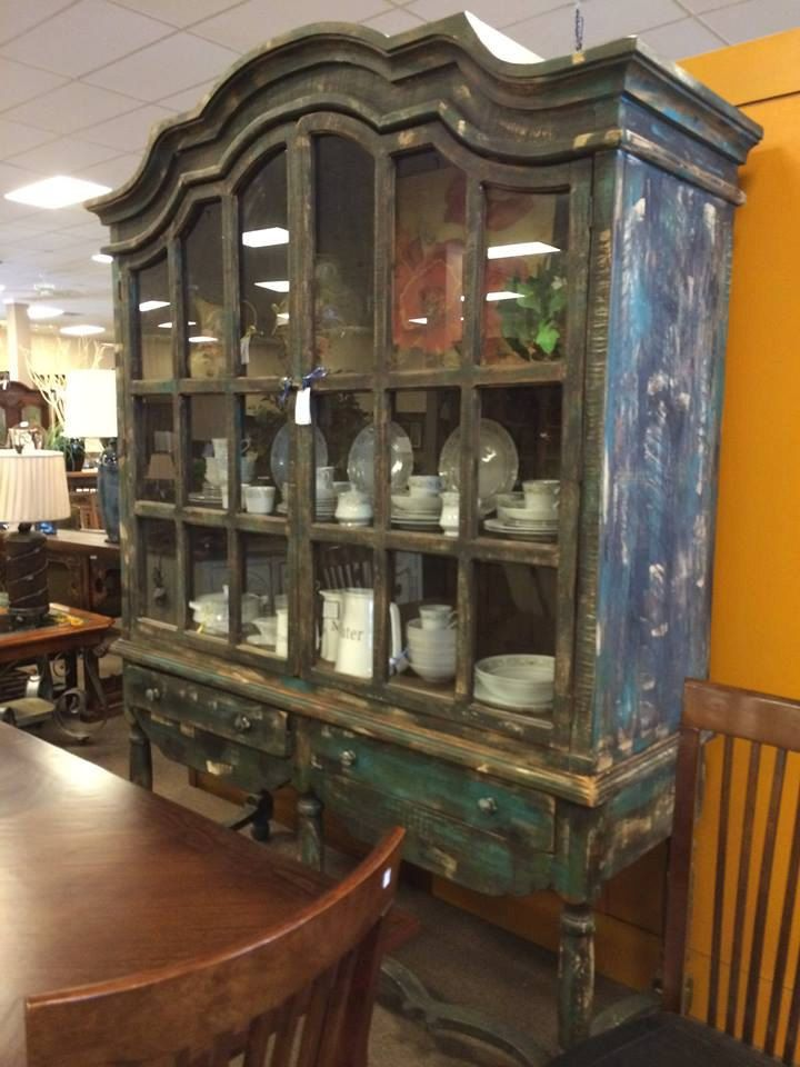 Unique, Extra Large, Vintage, China Cabinet With Large Drawers.