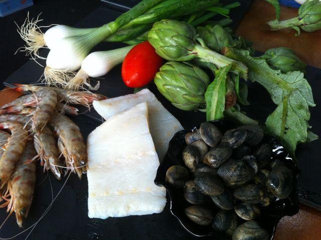 NO HI HA OUS: Suquet de bacallà amb carxofes i llagostins, el de...