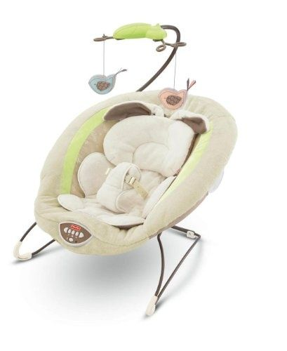 $47.00-$64.99 baby fisher-price my little snugabunny bouncer seat