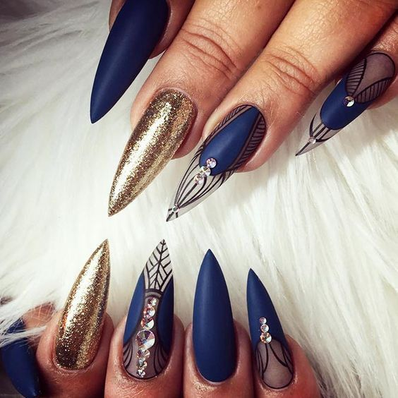 40 Best Shellac Nail Art Design Ideas Ecstasycoffee: 40+ TOP AMAZING GEL NAILS ART OF 2019