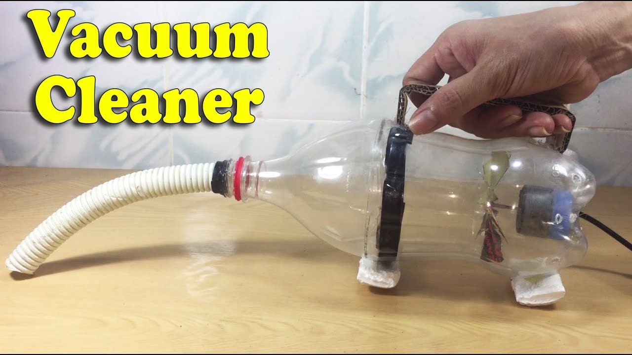 How to Make a Vacuum Cleaner Using Bottle & DC Motor at Home