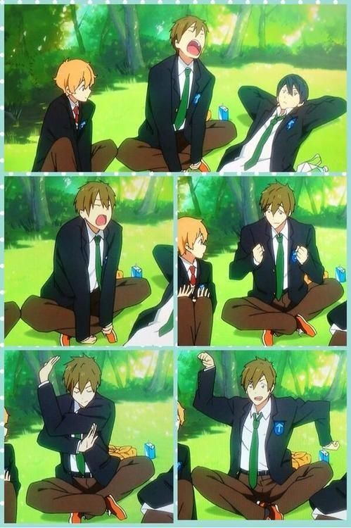 Oh Makoto...your expressions are funny XD