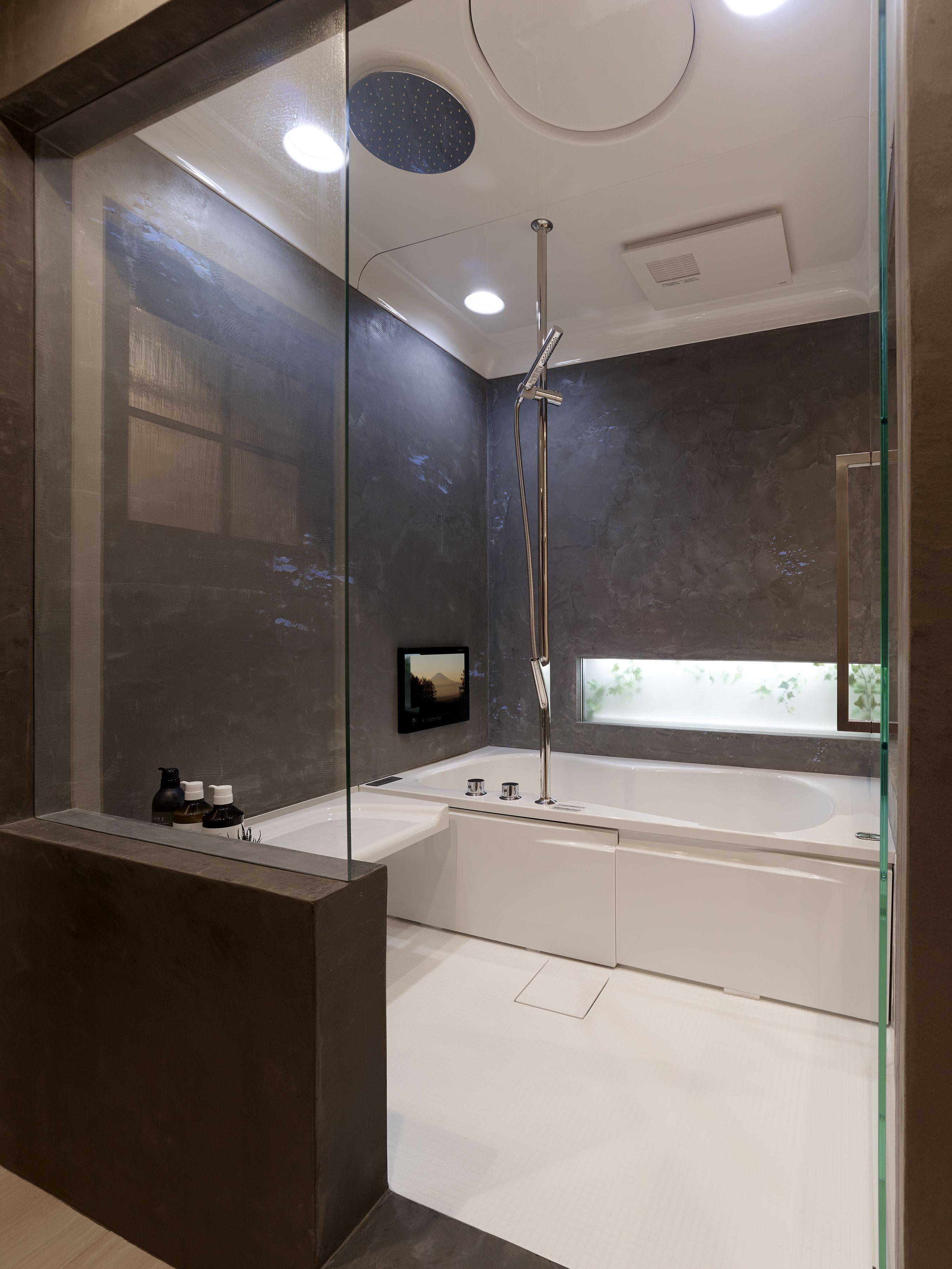 ミサワホームイングデザインリフォーム ガラス張りでホテルライクな