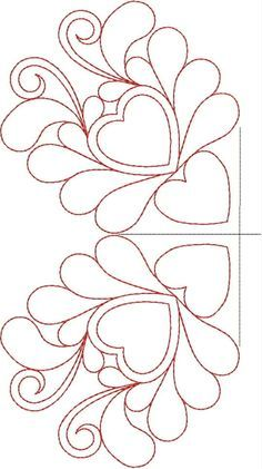 Free Continuous Machine Quilting Designs | Original Embroidery ... : free quilting motif patterns - Adamdwight.com