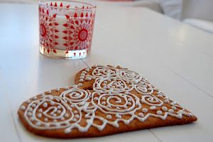 cookie design from Ikea candle