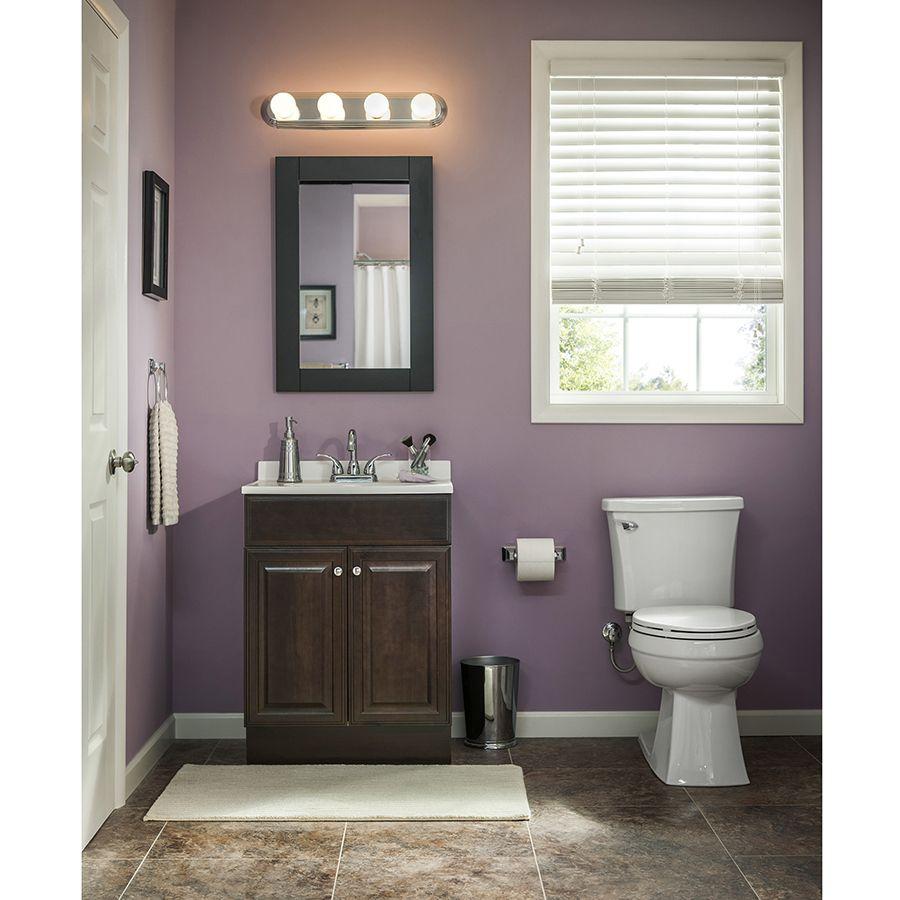 Shop Project Source Java Integral Single Sink Bathroom Vanity with