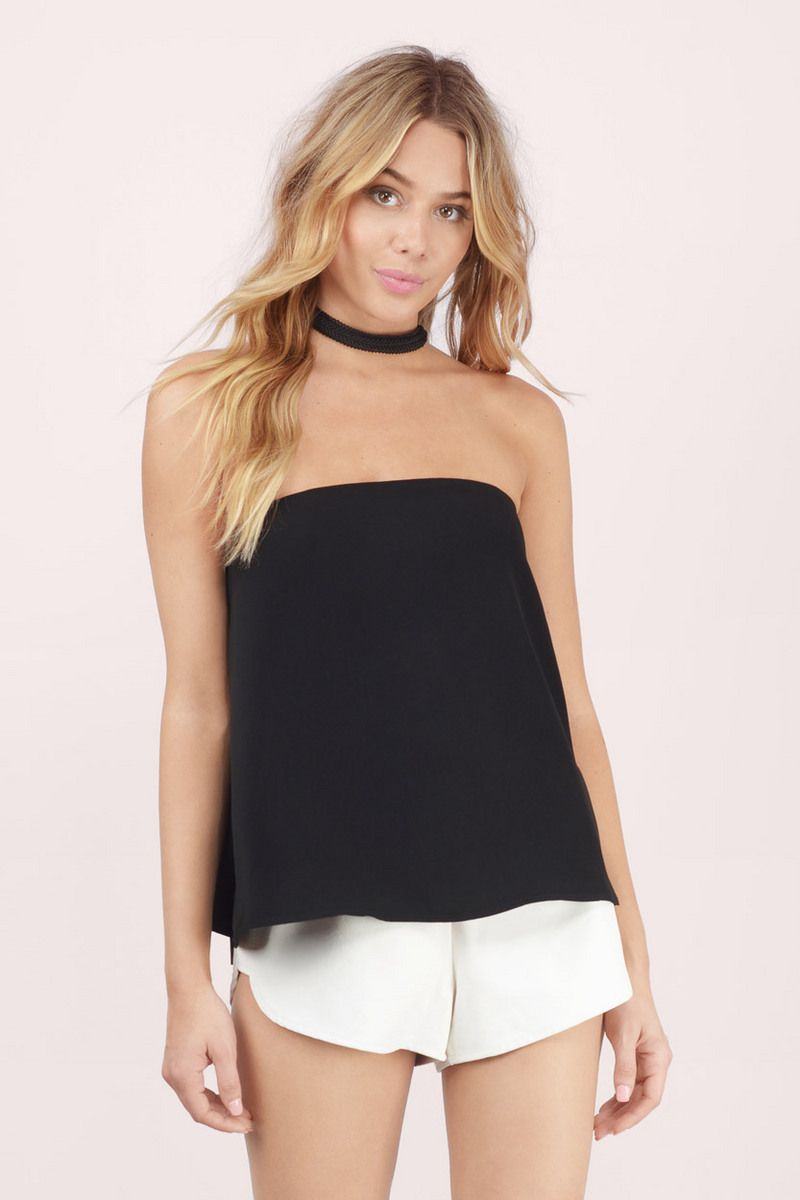 Casablanca strapless top strapless tops tops fashion