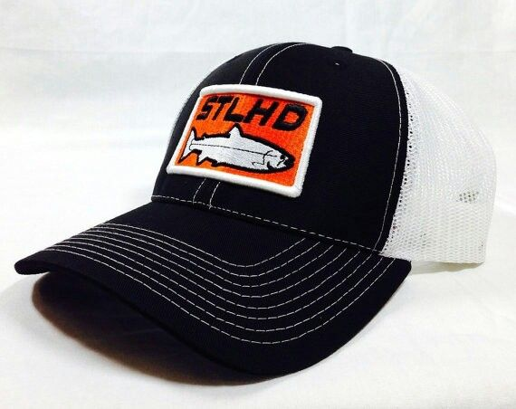 64e44f0f H&H steelhead hat | Andy's fishin | Hats, Snapback hats, Black