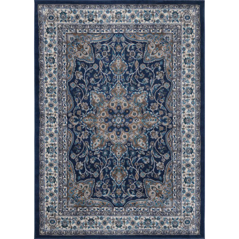 Arend Oriental Navy Blue White Area Rug In 2020 With Images Blue Area Rugs Area Rugs Navy Blue Area Rug