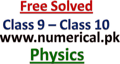 Solved numerical problems of class 10 level  Visit www