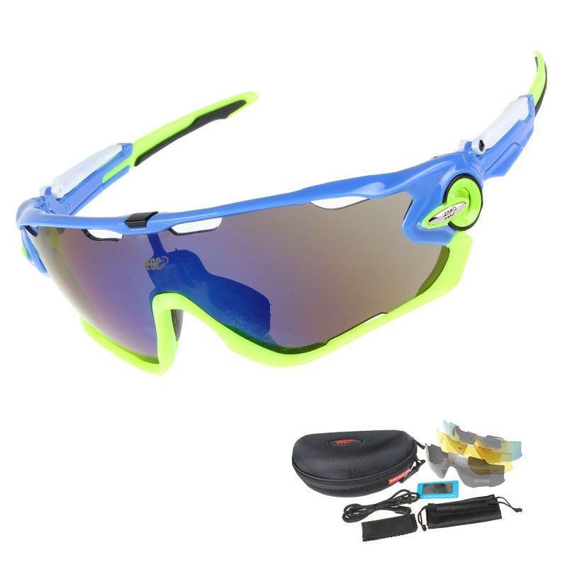 01de4bcf42a EOC Professional Polarized Cycling Glasses Bike Goggles Driving Fishing  Outdoor Sports Sunglasses UV 400 3 Lens TR90 6 color