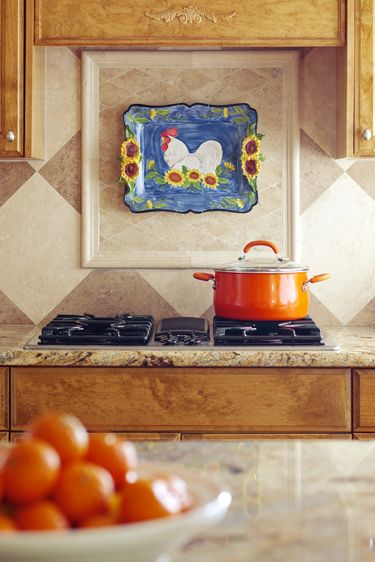 Attractive Fun Way To Change Up Your Kitchen Fast    Change Out Bold, Colorful Trays