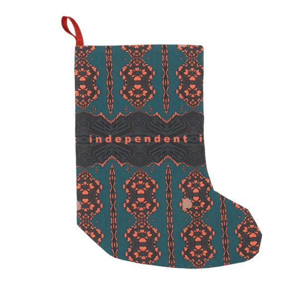independent and proud small christmas stocking stocking christmas sock xmas
