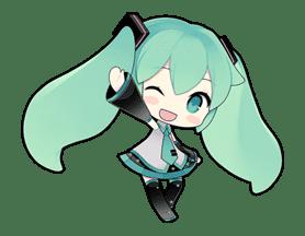 Hatsune Miku Sticker 7628 Hatsune Miku Hatsune Anime Chibi