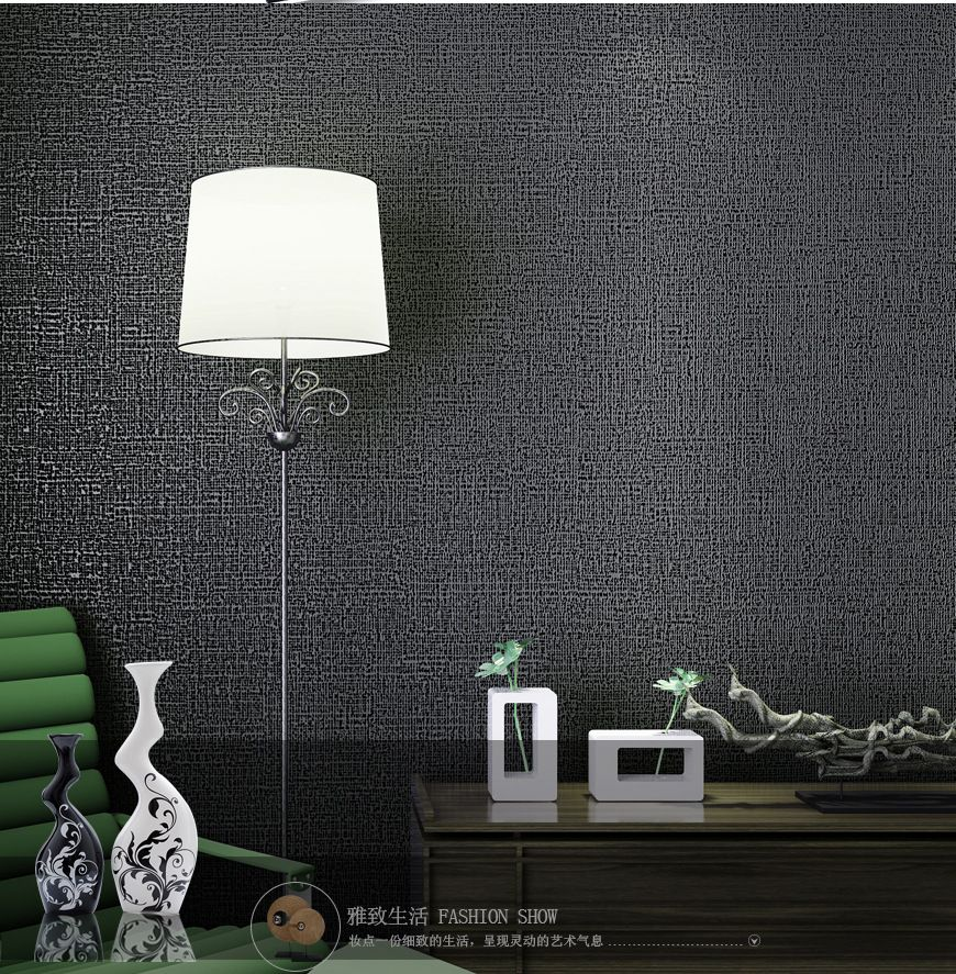 Modern Simple Plain Solid Wallpaper Living Room Bedroom Wallpaper For Walls 3d Gray Coffee Beige Black Wallpaper Bedroom Wallpaper Living Room Bedroom Decor