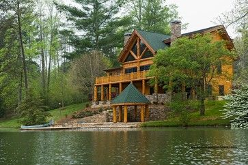 Log Homes Design Ideas, Pictures, Remodel, and Decor - page 3