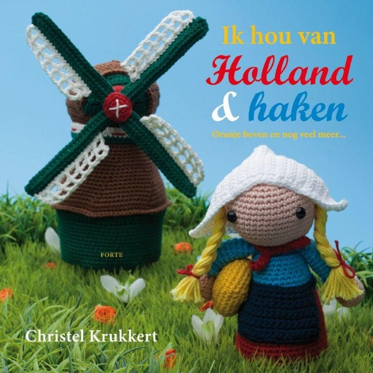 Holland (Crochet book by Christel Krukkert) ♥ | Crochet Holland ...
