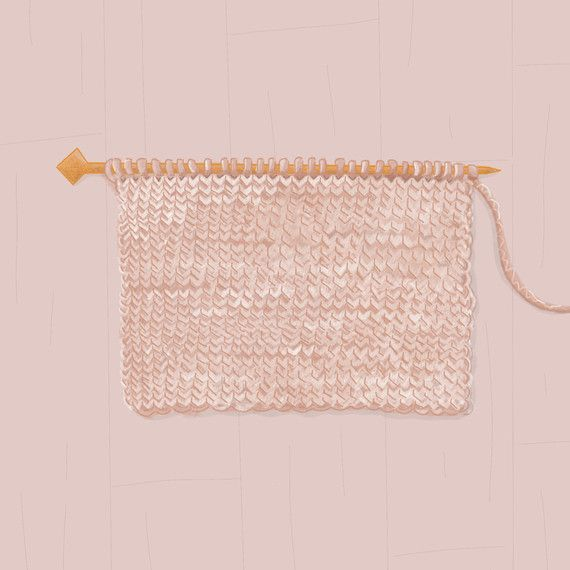 The Stockinette Stitch: What Is It And How Do I Knit It