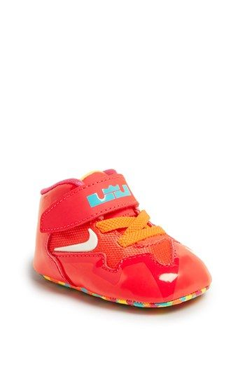 Nike LeBron XI Crib Shoe   Bib (Baby) available at  Nordstrom ... 6c7bf0c12e9e