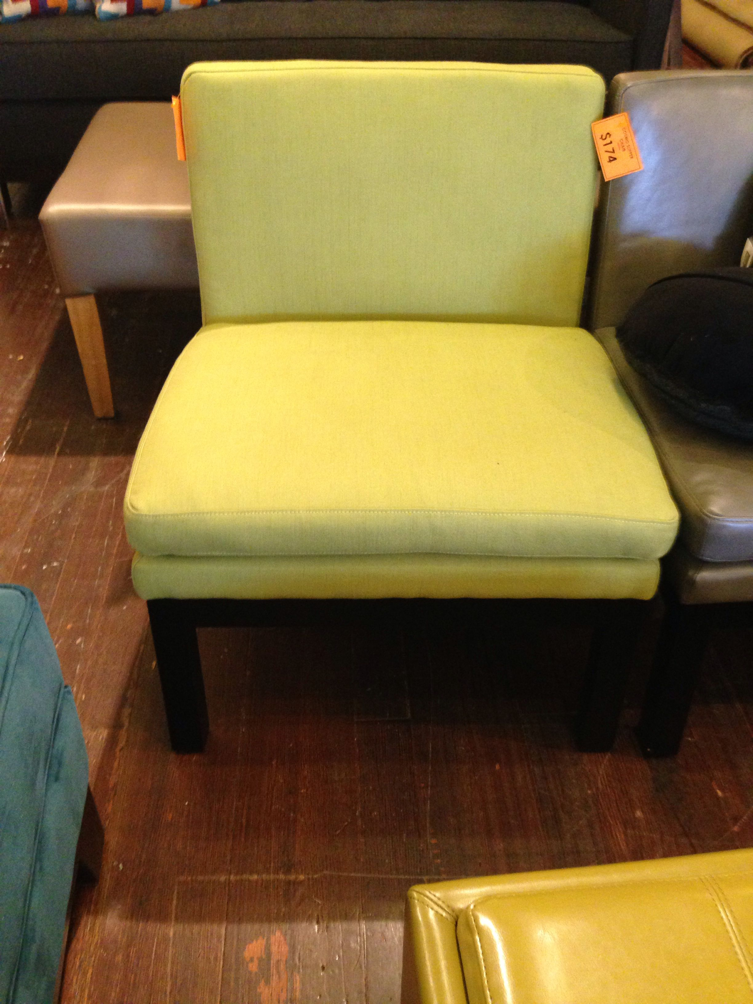 Cosmo slipper chair $174 (therapy)