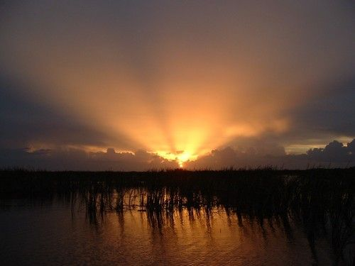 Lake Okeechobee,FL Sunset