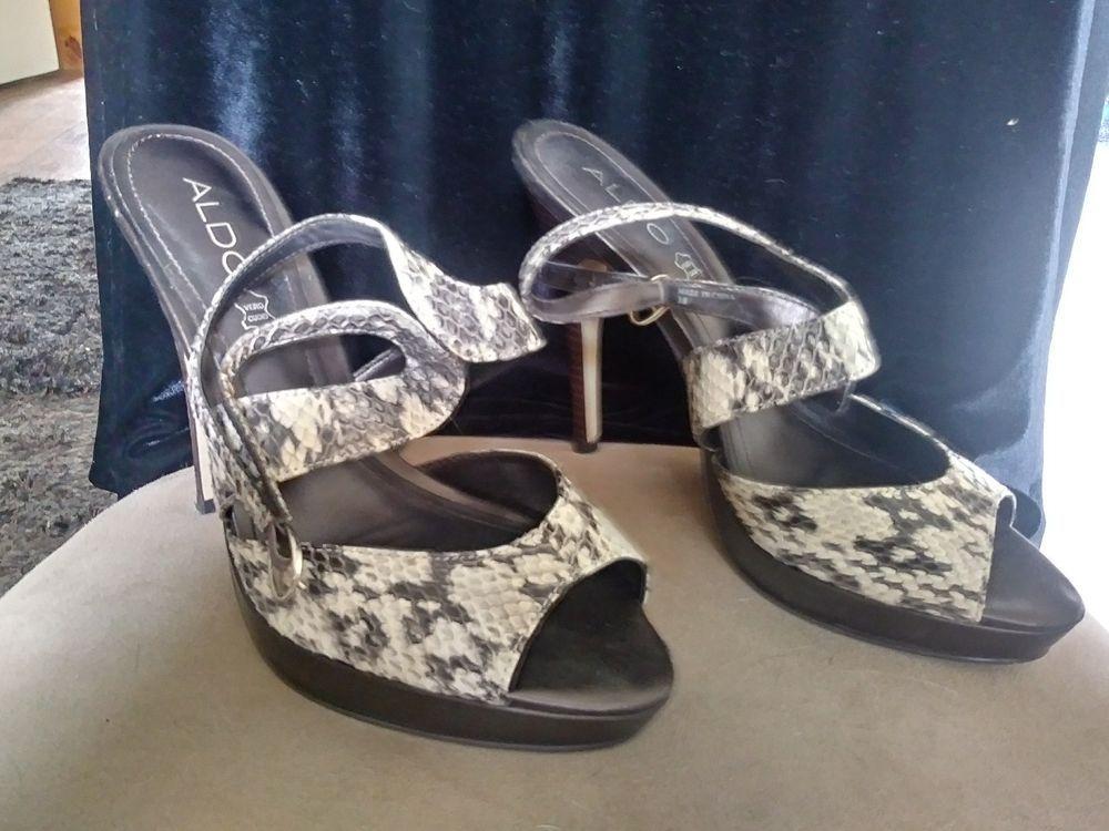 b64bb3d3414 Aldo Snake Skin Heels Size 7 1/2 #fashion #clothing #shoes ...