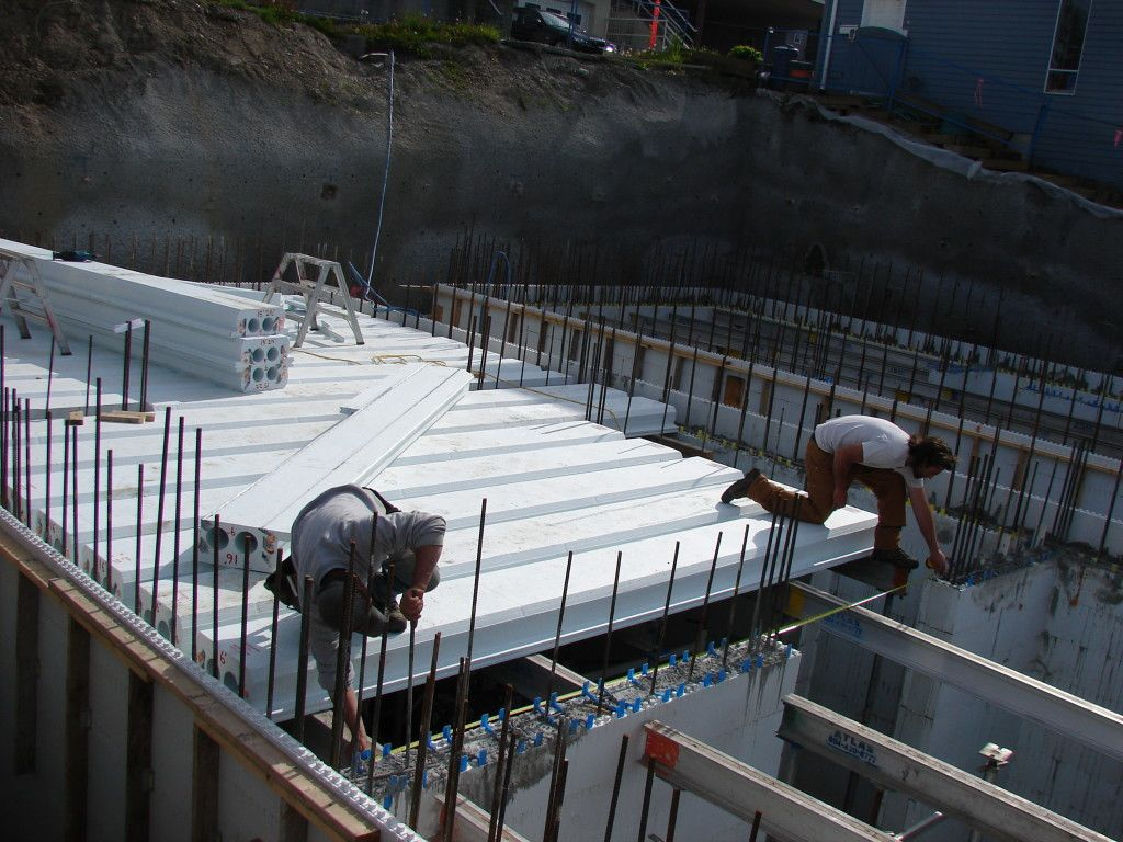 Roof Deck Form Planks In 2020 Insulated Concrete Forms Roof Construction Roof Installation