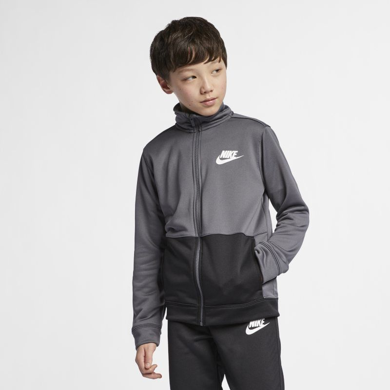382b9c95bb93 Nike Sportswear Older Kids  (Boys ) Tracksuit - Grey in 2019 ...