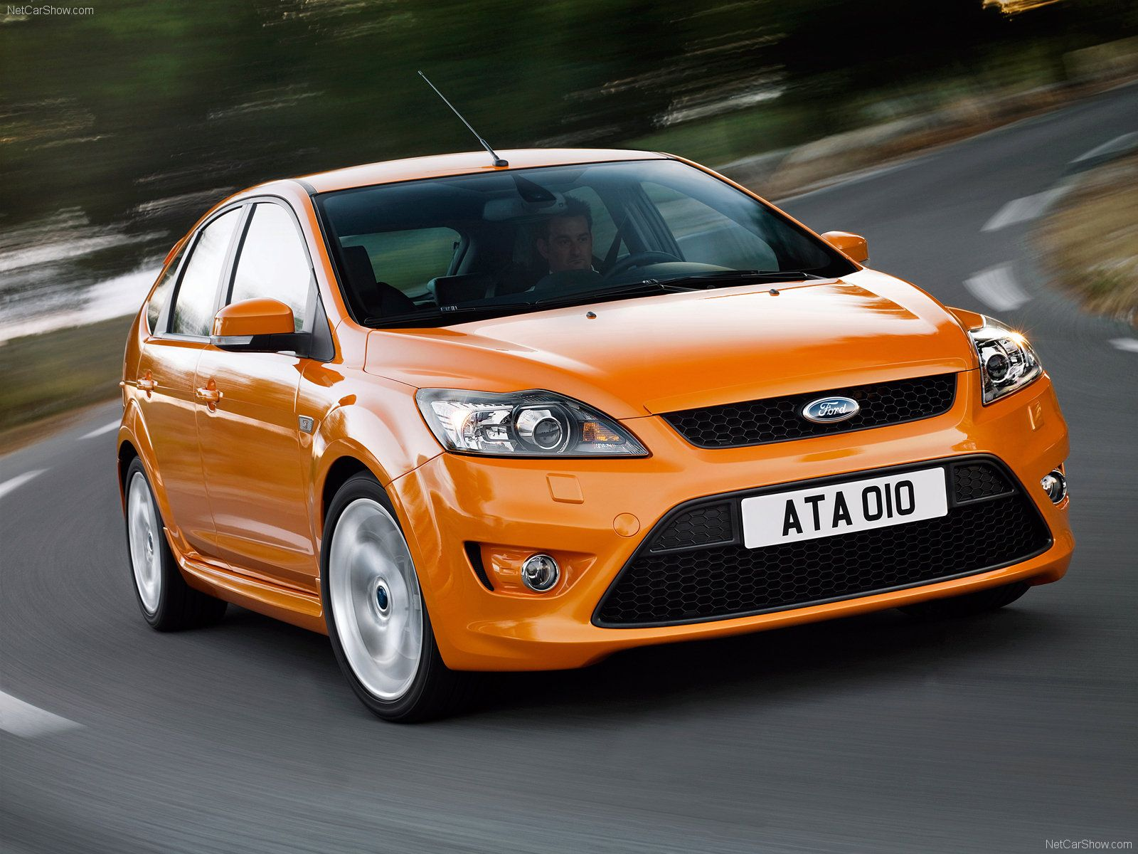 Electric Orange Ford Focus St Mk2 Facelift 총 온라인 카지노 판