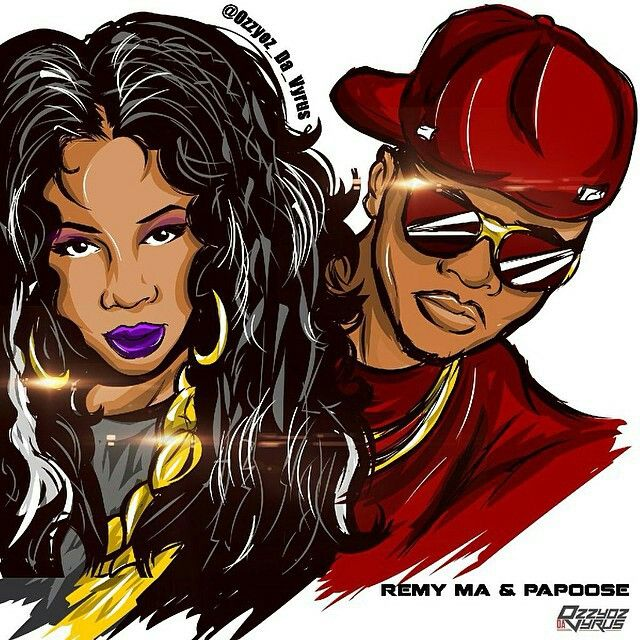 Instagram Remy Ma And Papoose Great Art Engagement