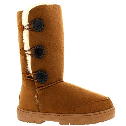 Womens Triplet Button Fully Fur Lined Waterproof Winter Snow Boots - Tan - 5 Snow Boot http://www.amazon.com/dp/B0092OQYB4/ref=cm_sw_r_pi_dp_b8Rxub13FKQH5