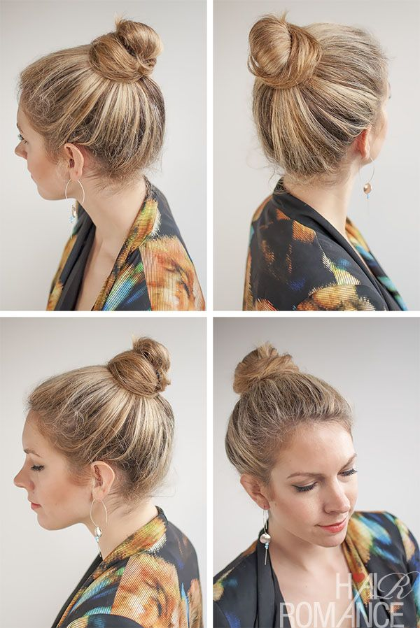 30 Buns In 30 Days Day 20 Top Knot Bun Hair Romance Bun Hairstyles Hair Romance Top Knot Bun