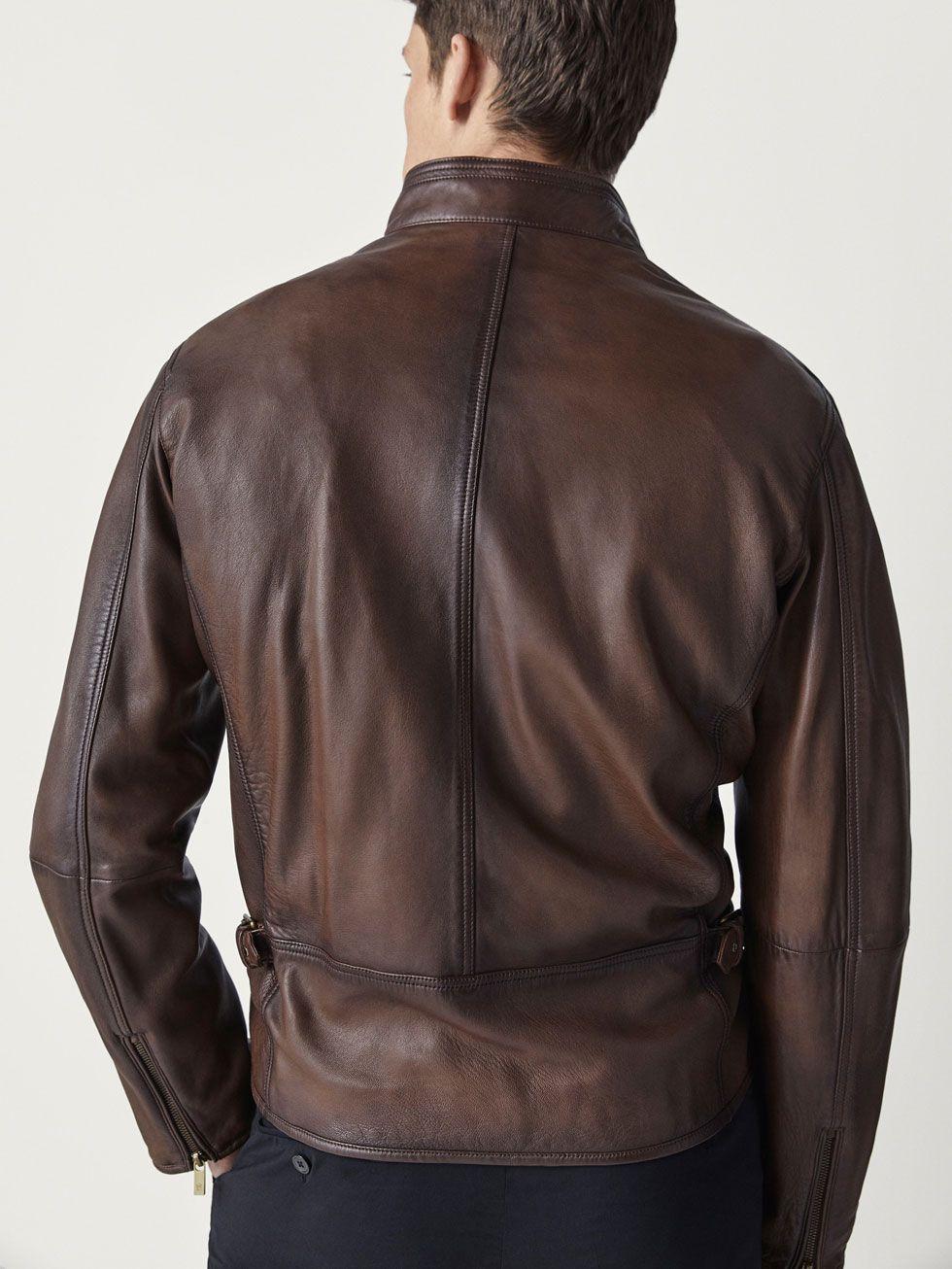 Blousons en cuir - Vestes - HOMMES - Massimo Dutti   Habits homme ... a09a4983aadb
