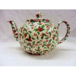 Holly chintz 6 Cup Teapot